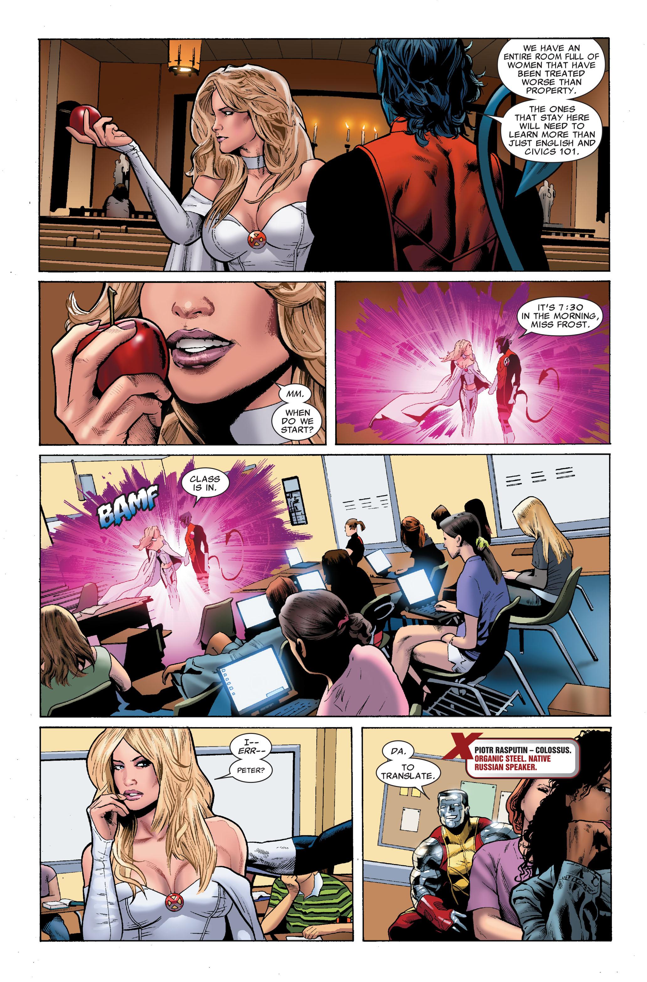 Read online Uncanny X-Men (1963) comic -  Issue #508 - 17