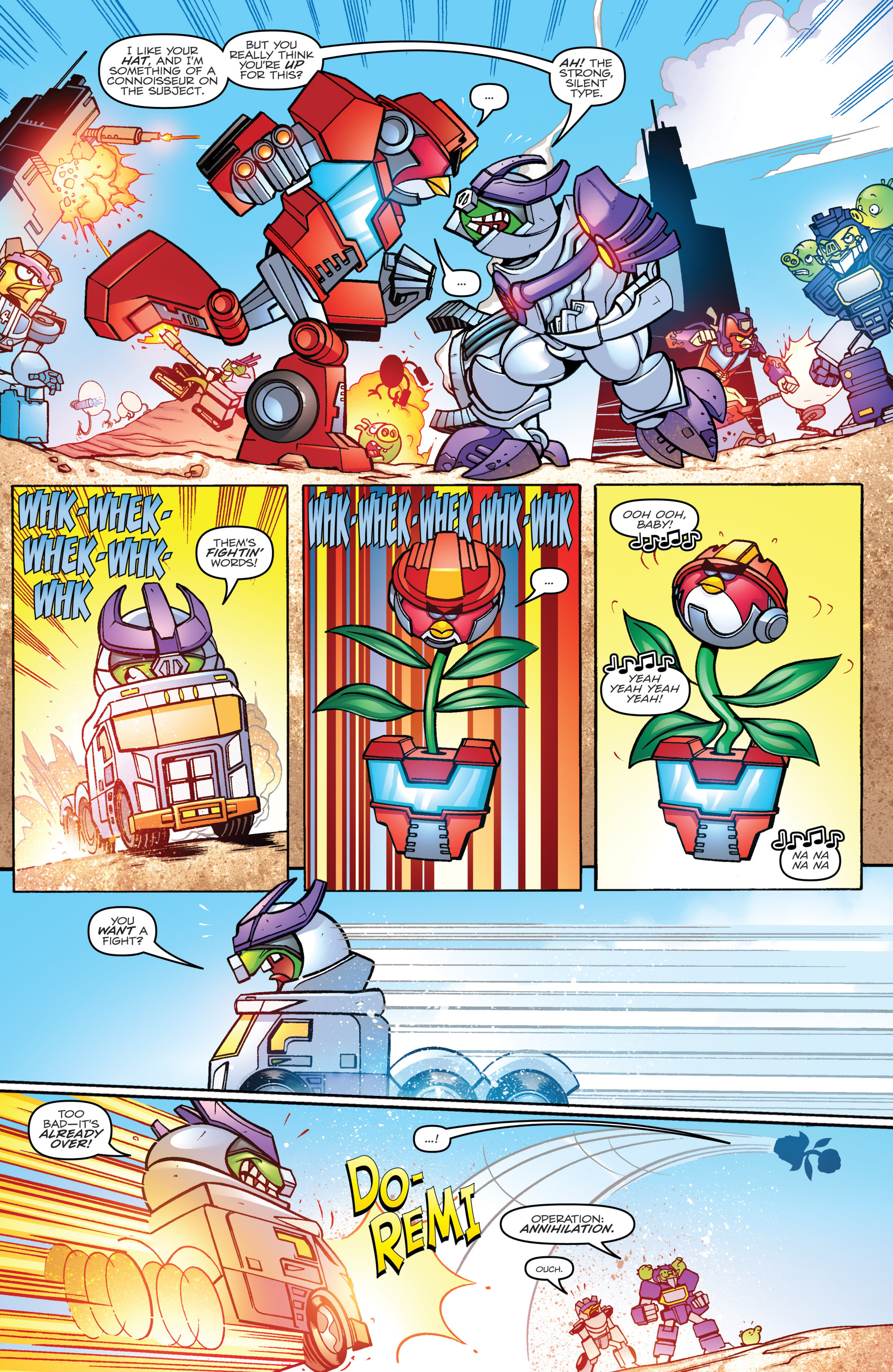 Read online Angry Birds Transformers comic -  Issue #3 - 11