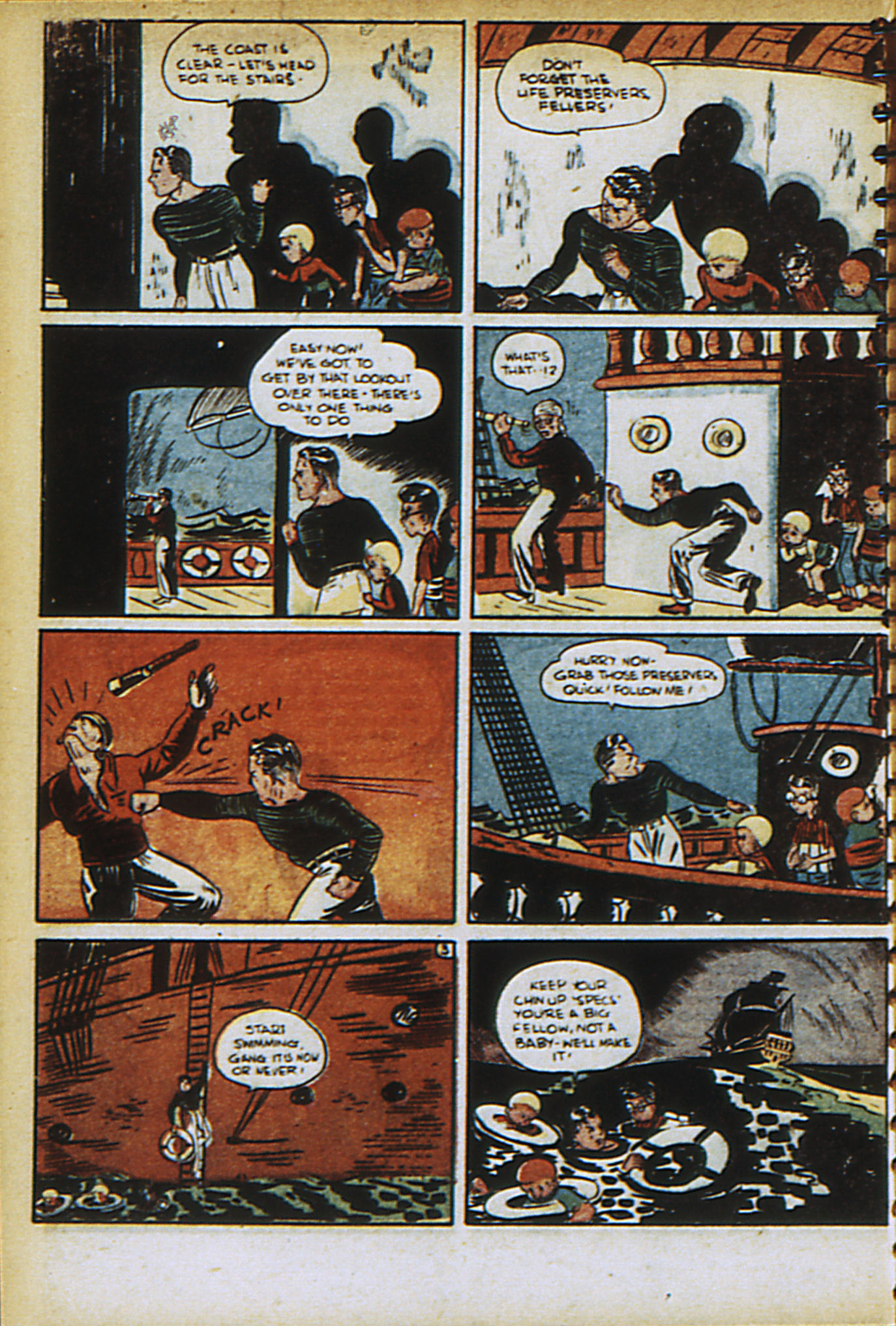Read online Adventure Comics (1938) comic -  Issue #30 - 53