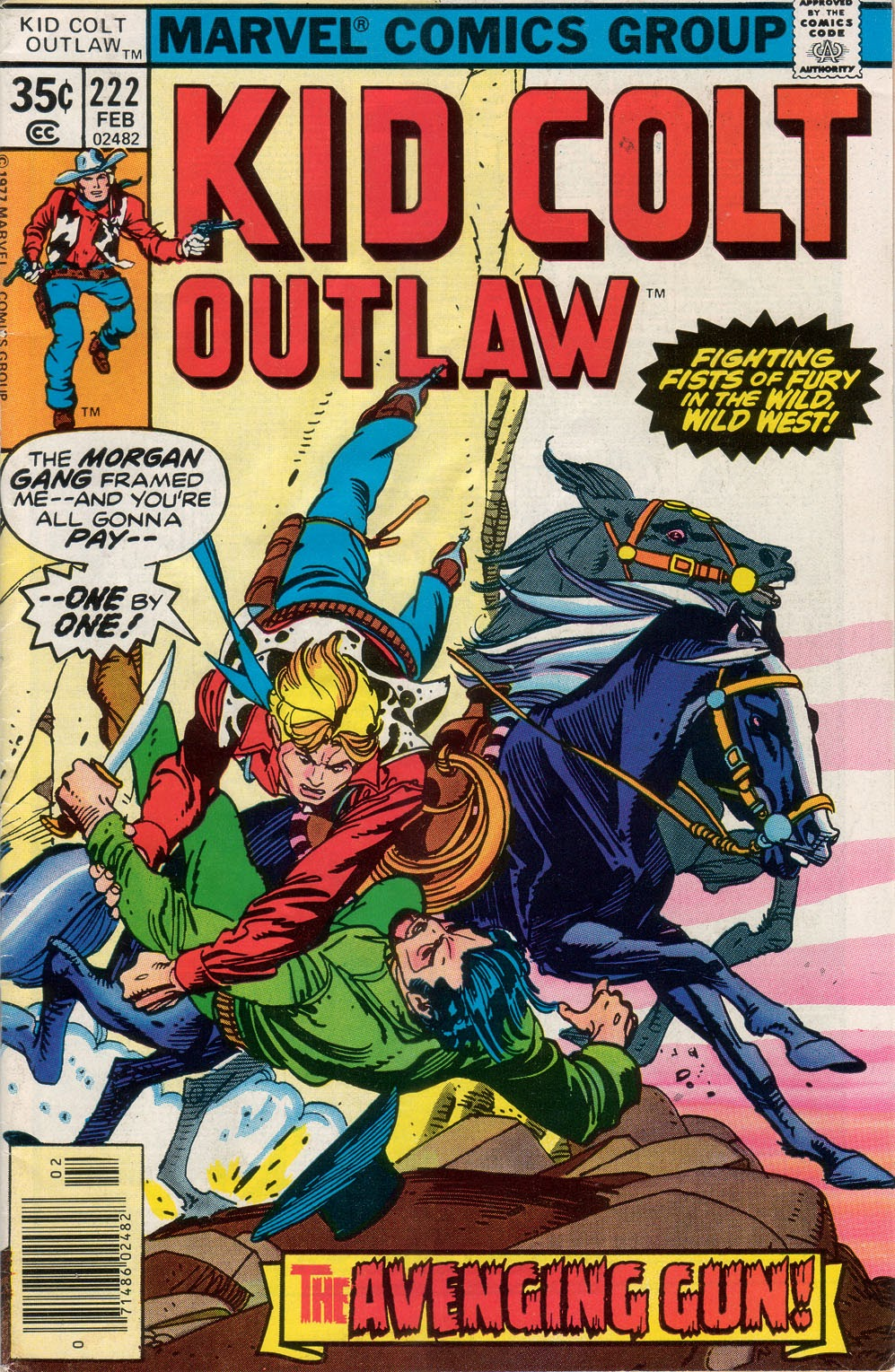 Kid Colt Outlaw issue 222 - Page 1