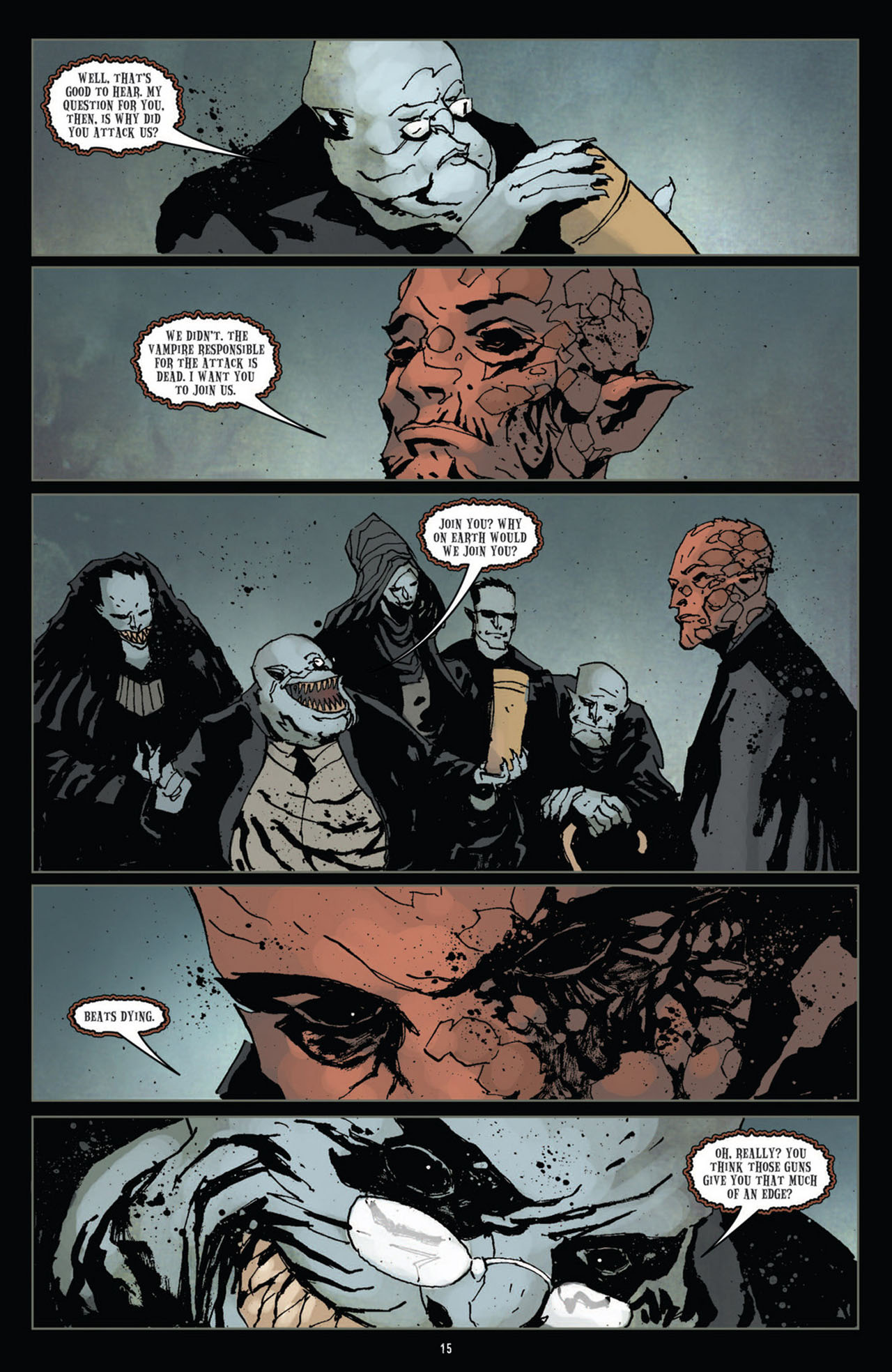 Read online 30 Days of Night (2011) comic -  Issue #11 - 17
