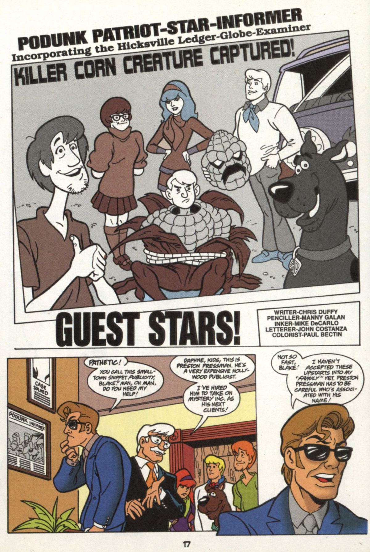 Read online Scooby-Doo (1997) comic -  Issue #16 - 16