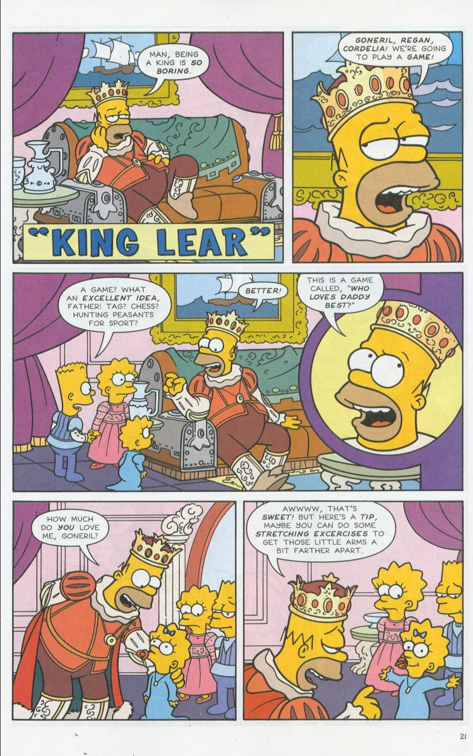 Read online Simpsons Comics comic -  Issue #76 - 22