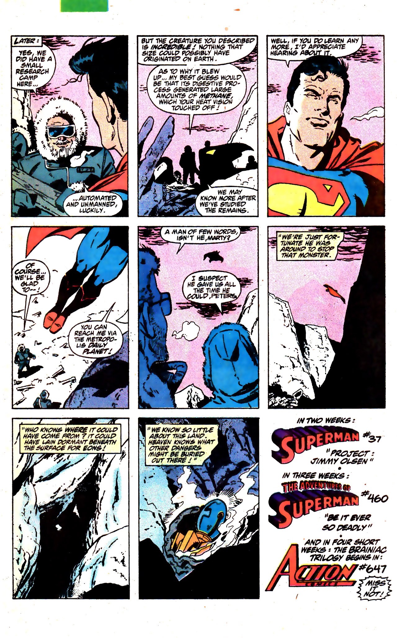 Read online Action Comics (1938) comic -  Issue #646 - 23