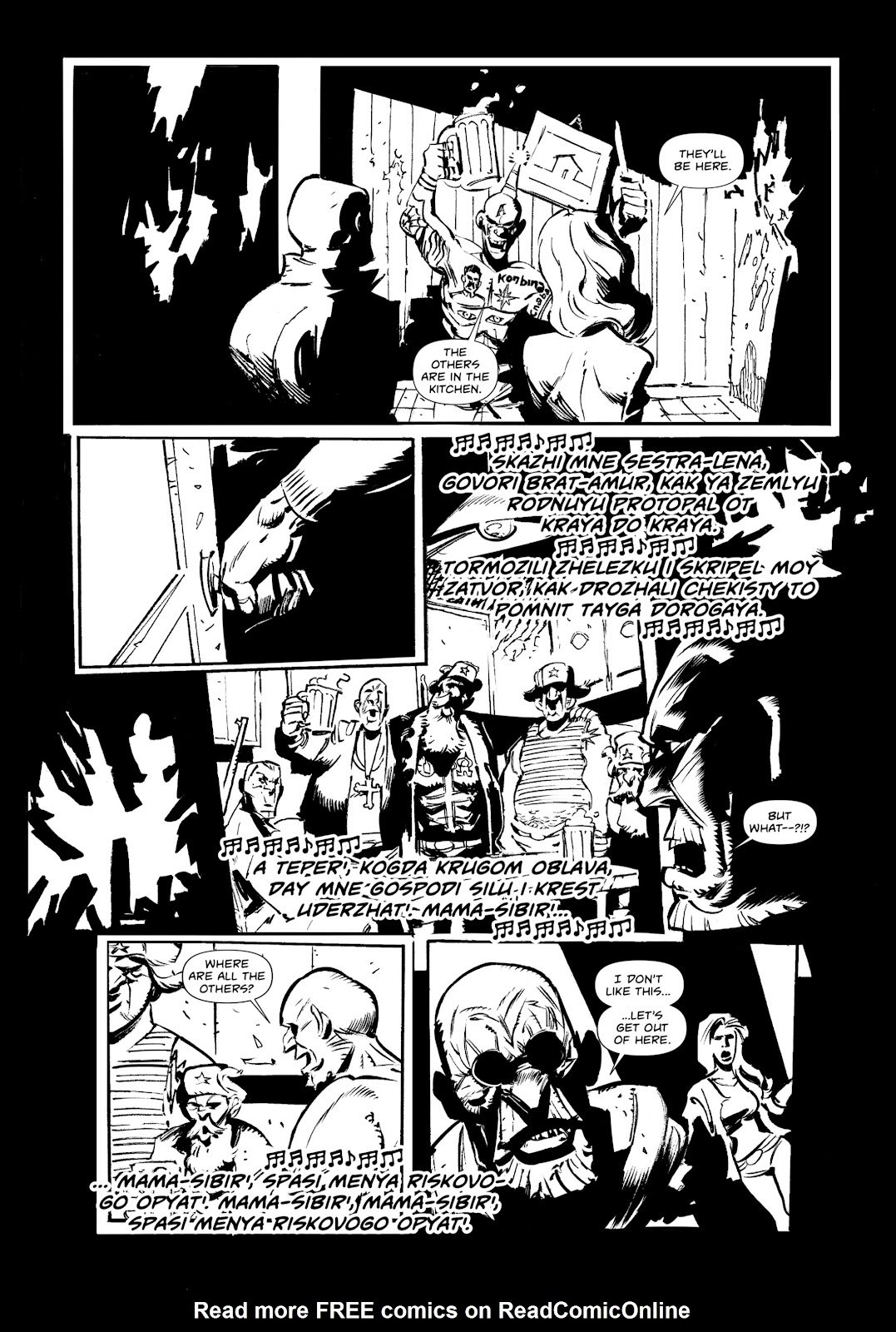 Read online Wrath of God comic -  Issue #3 - 4