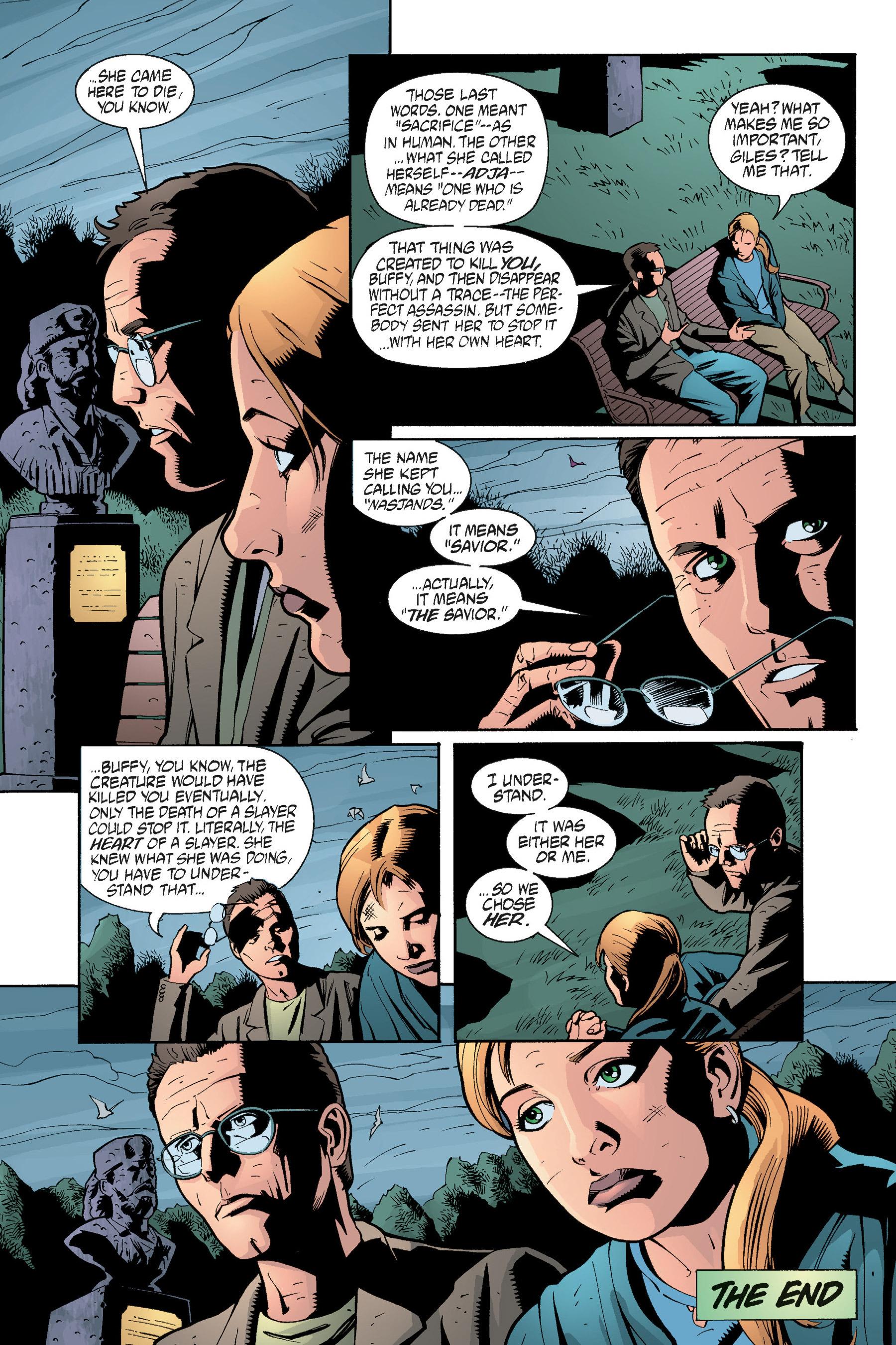 Read online Buffy the Vampire Slayer: Omnibus comic -  Issue # TPB 5 - 277