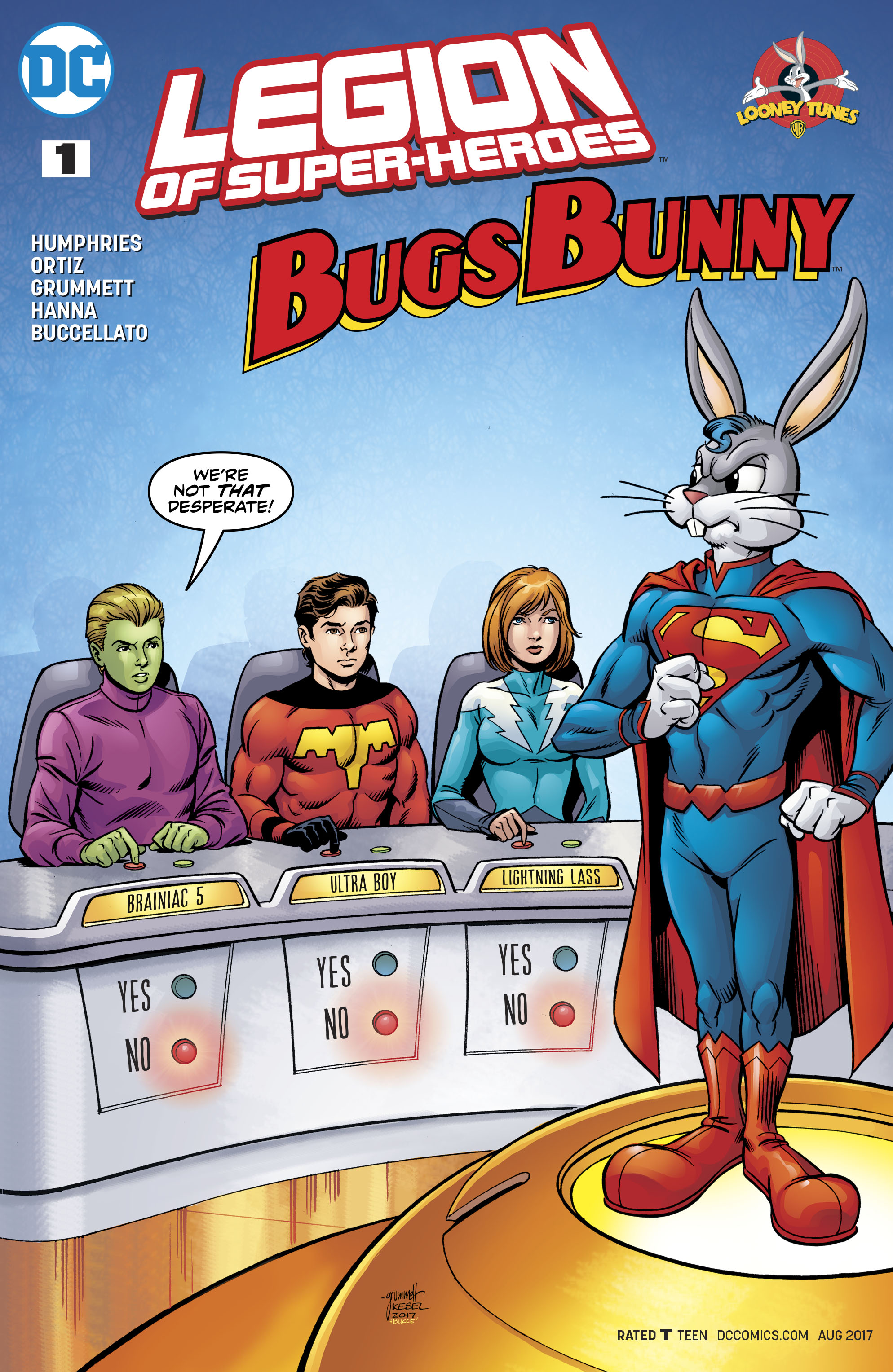 Read online Legion of Super-Heroes/Bugs Bunny Special comic -  Issue # Full - 1