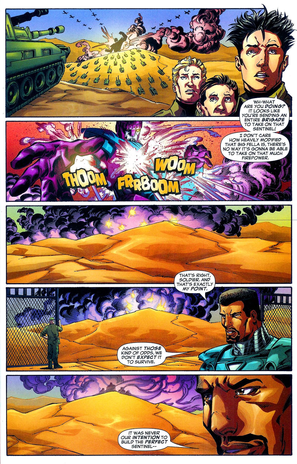 Read online Sentinel Squad O*N*E comic -  Issue #1 - 17