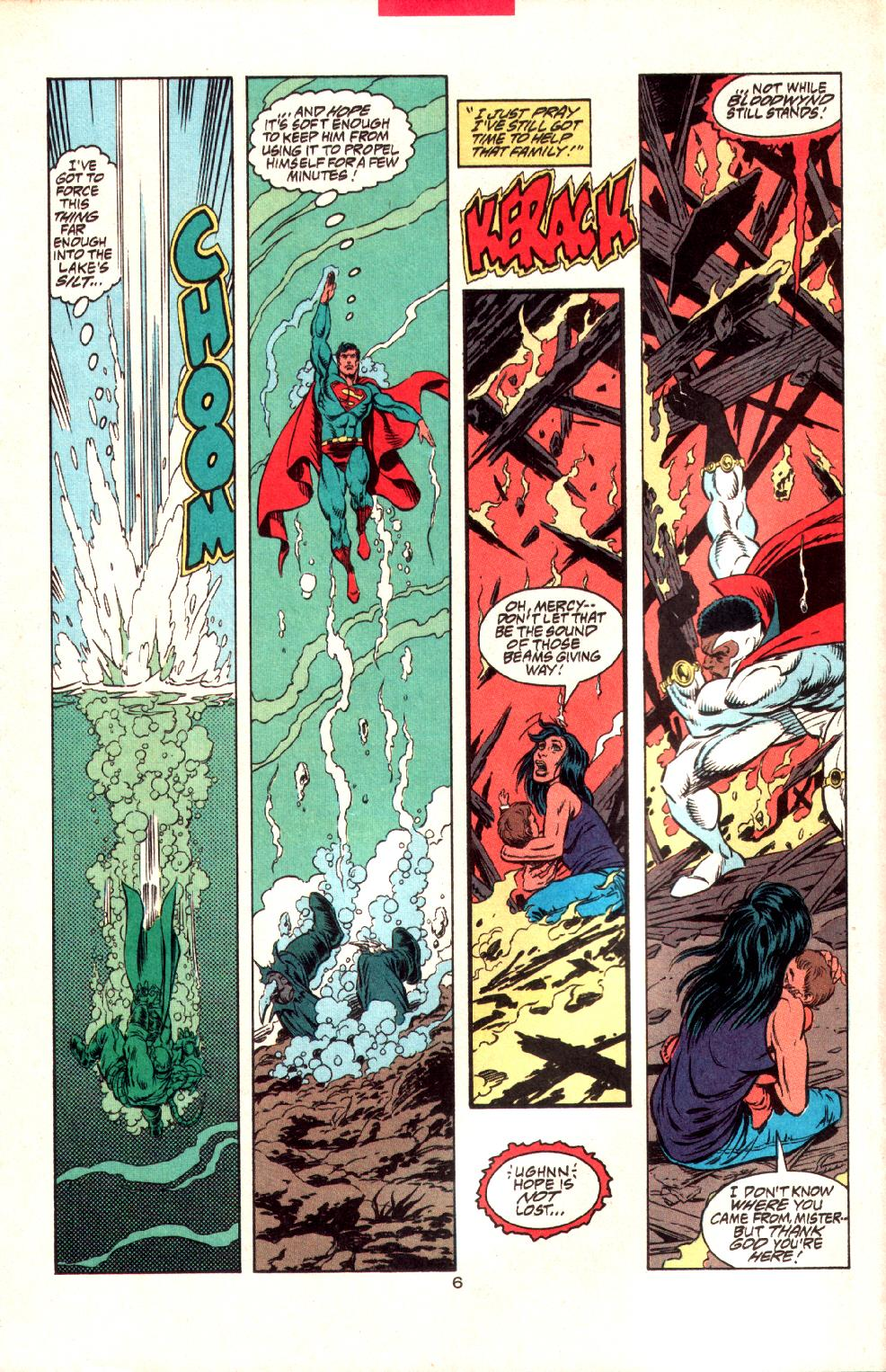 Read online Adventures of Superman (1987) comic -  Issue #497 - 7