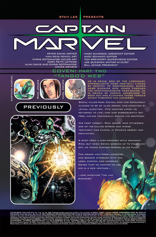 Captain Marvel (2002) Issue #10 #10 - English 2