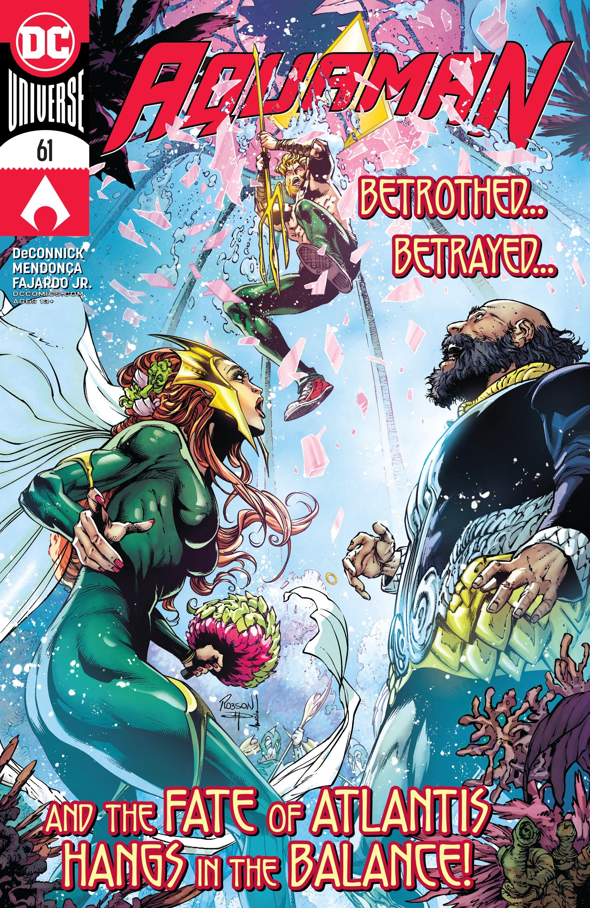 Aquaman (2016) 61 Page 1