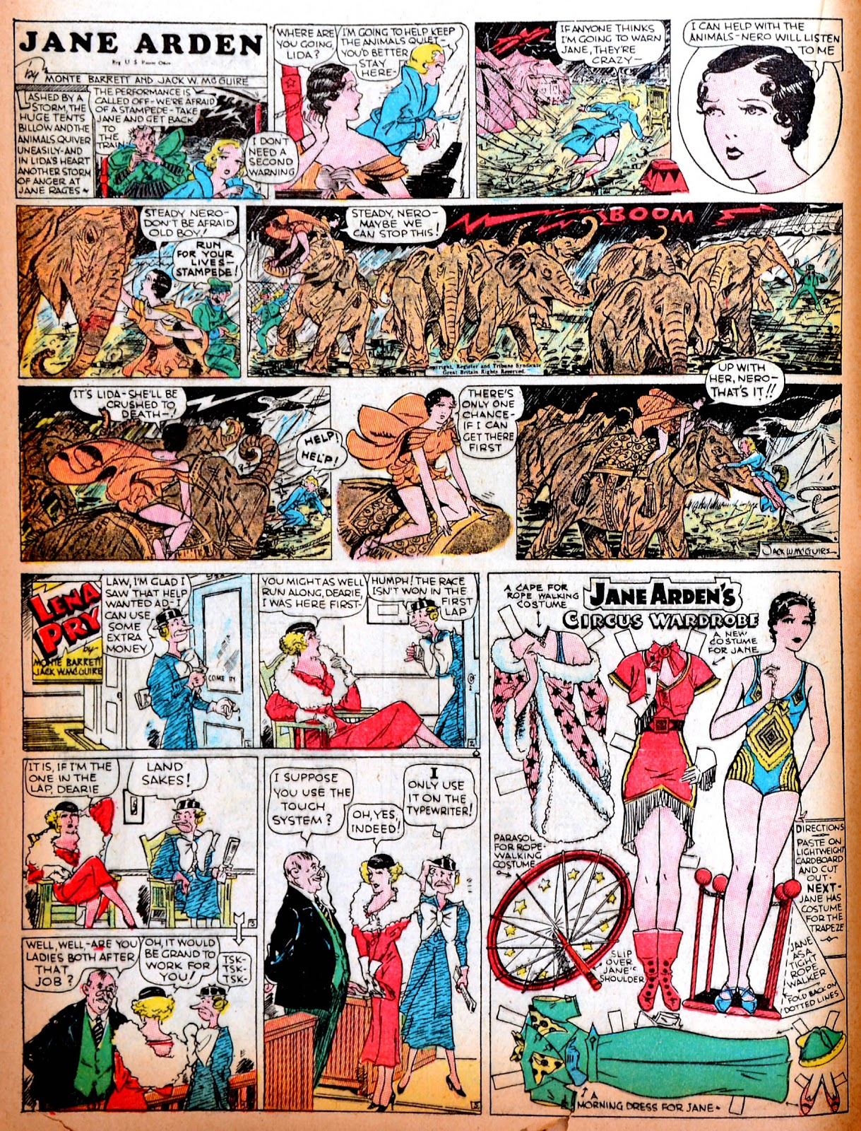 Read online Famous Funnies comic -  Issue #11 - 46