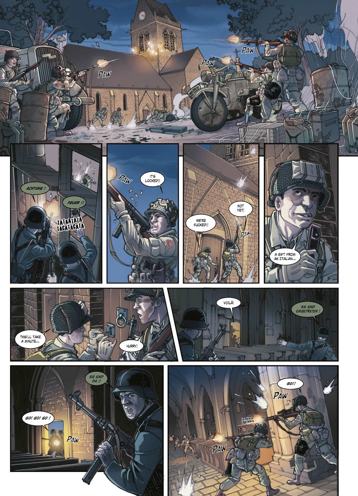 Read online Opération Overlord comic -  Issue #1 - 41