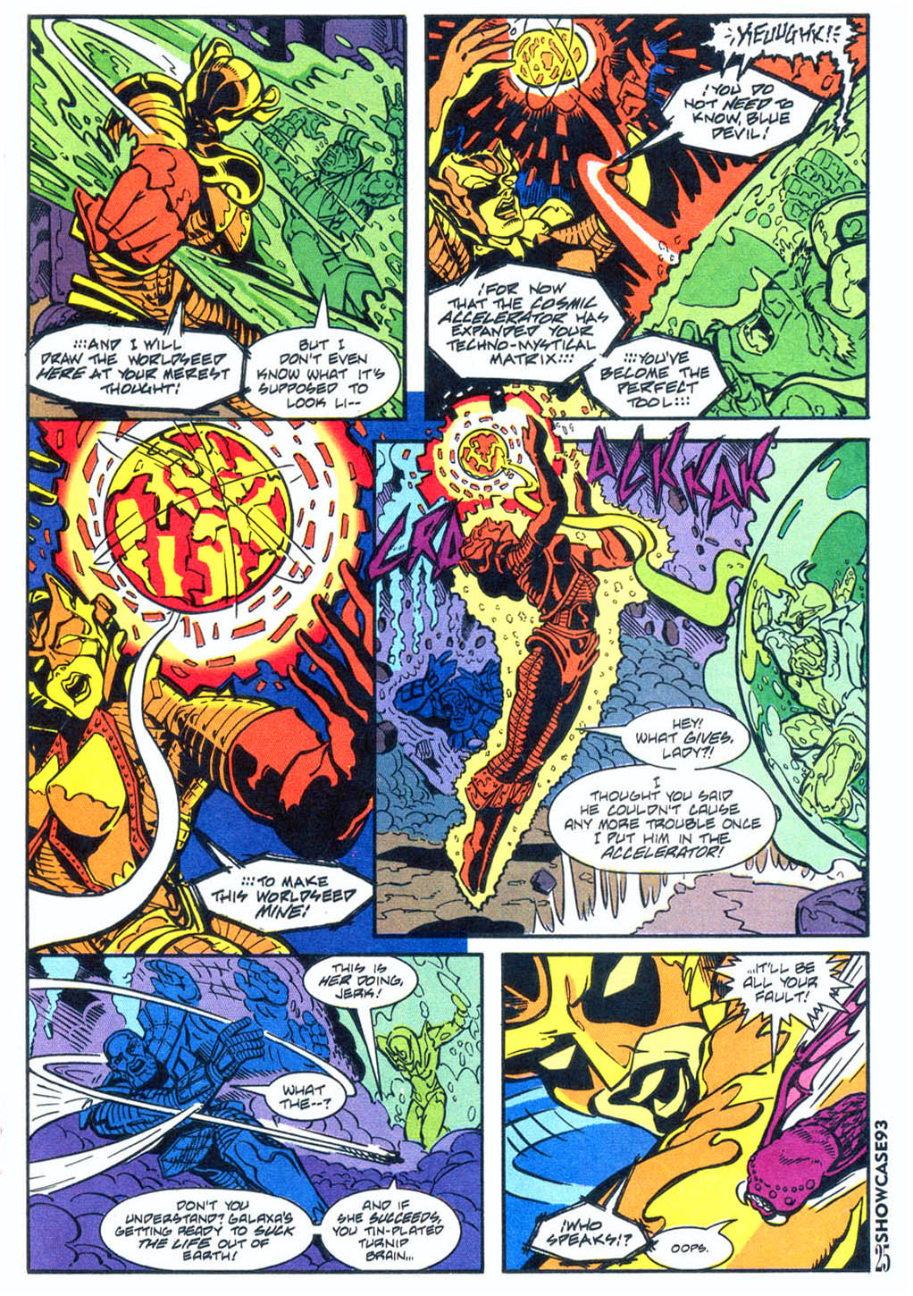 Read online Showcase '93 comic -  Issue #4 - 22