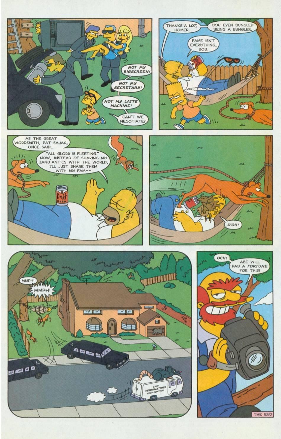 Read online Simpsons Comics comic -  Issue #42 - 22