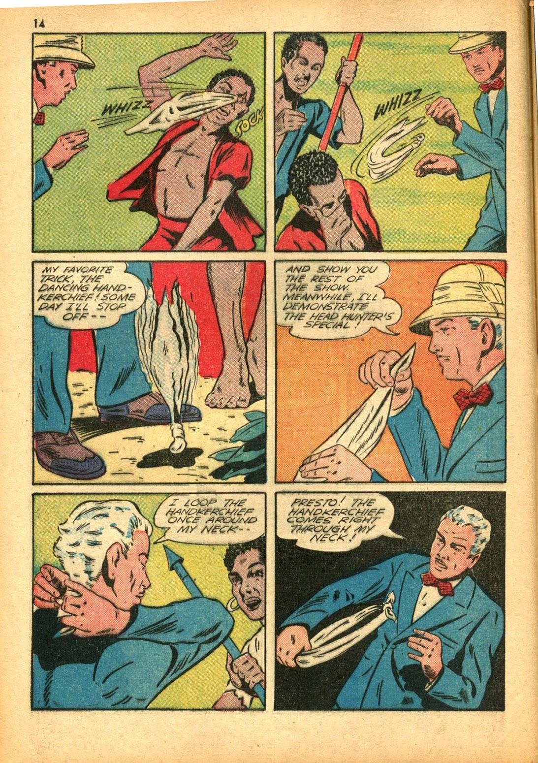 Read online Super-Magician Comics comic -  Issue #15 - 14