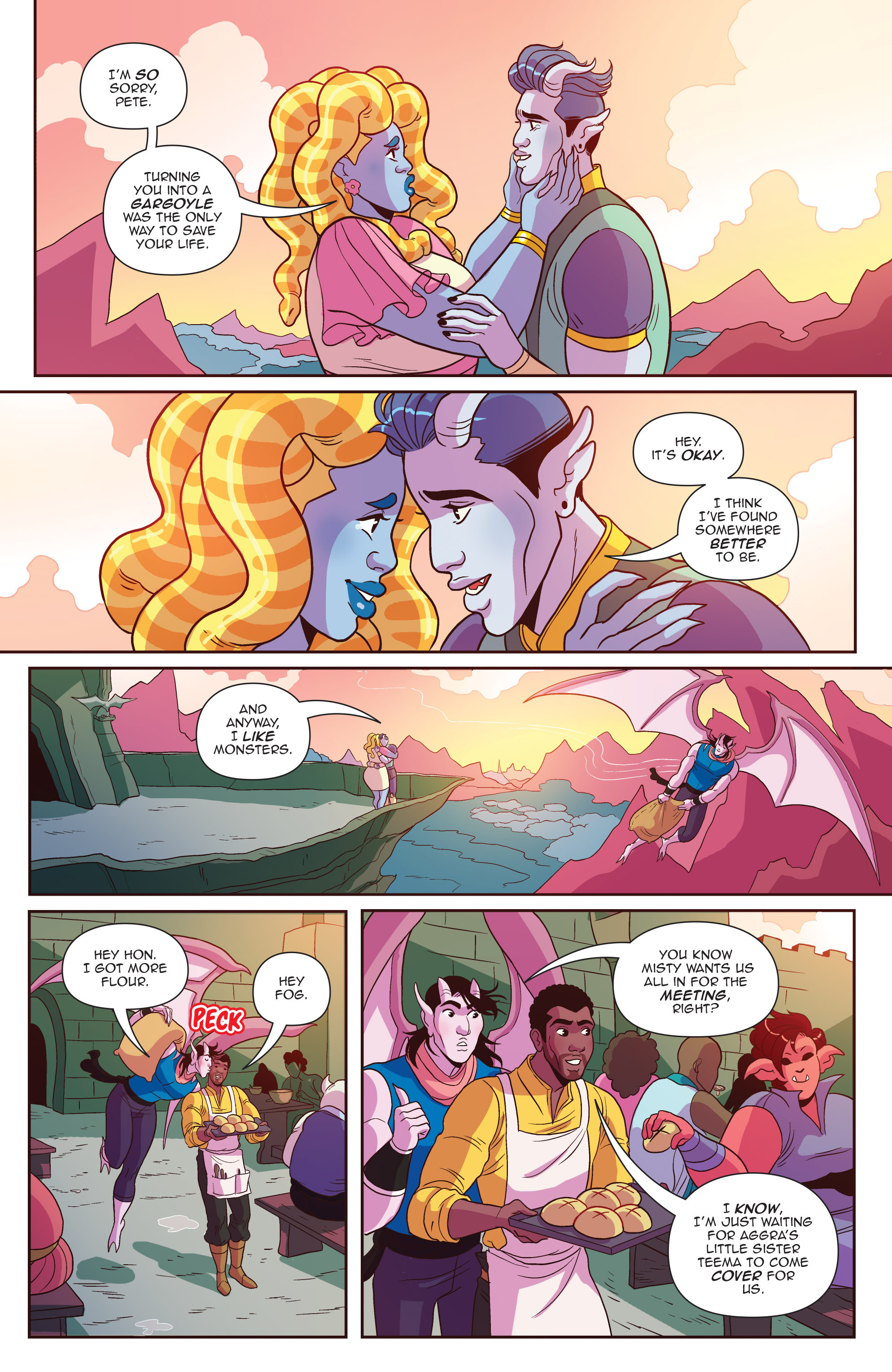Read online Another Castle comic -  Issue #5 - 22