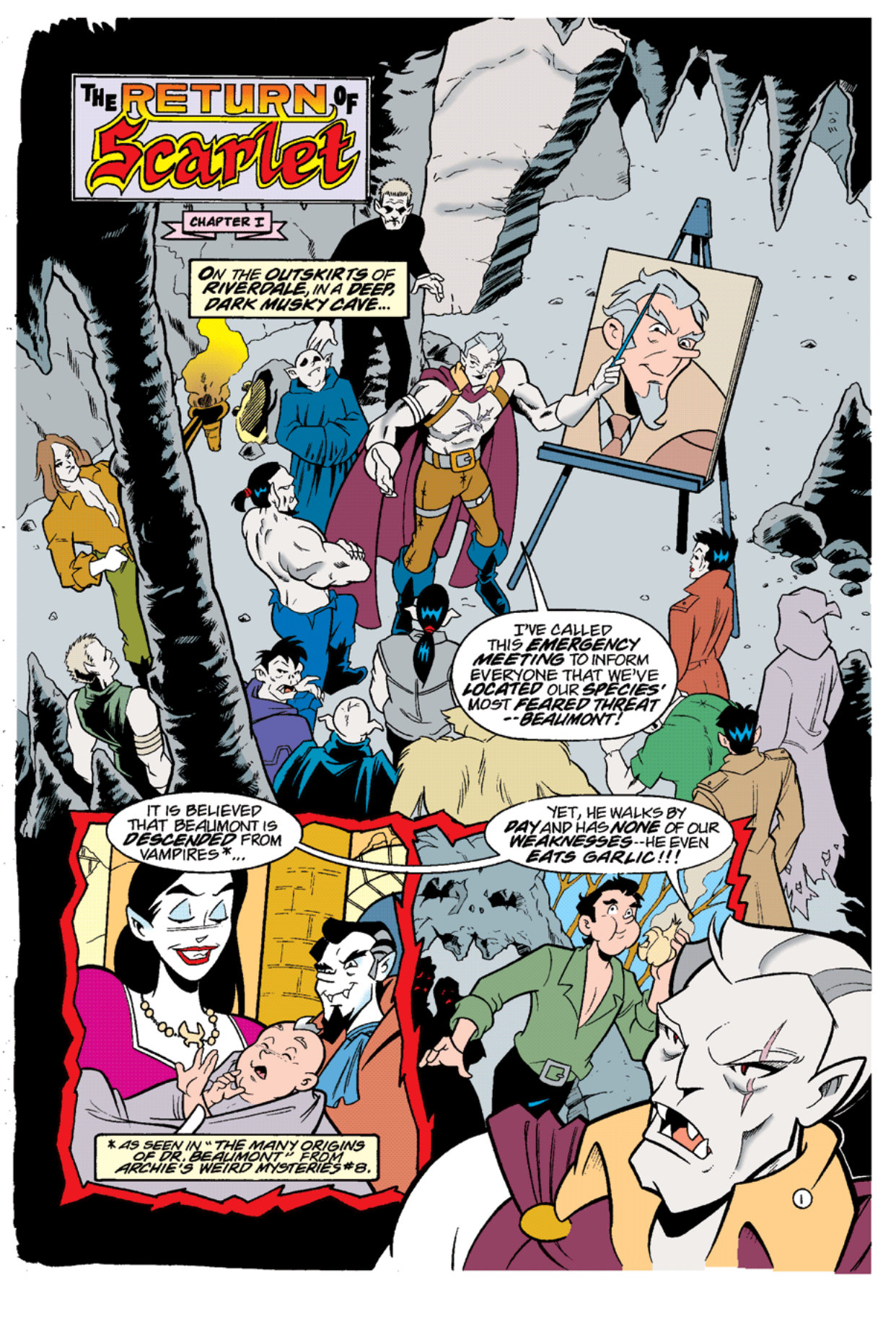 Read online Archie's Weird Mysteries comic -  Issue #12 - 3