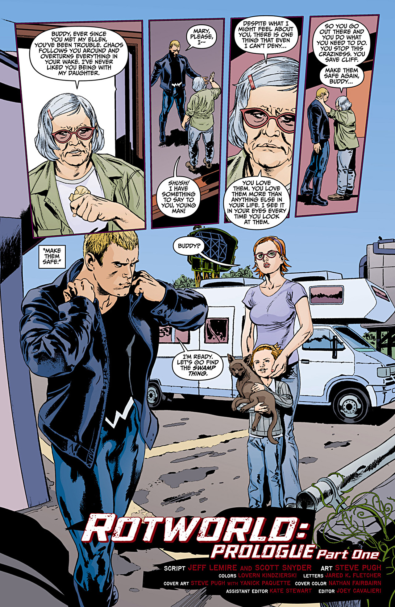Read online Animal Man (2011) comic -  Issue #12 - 4