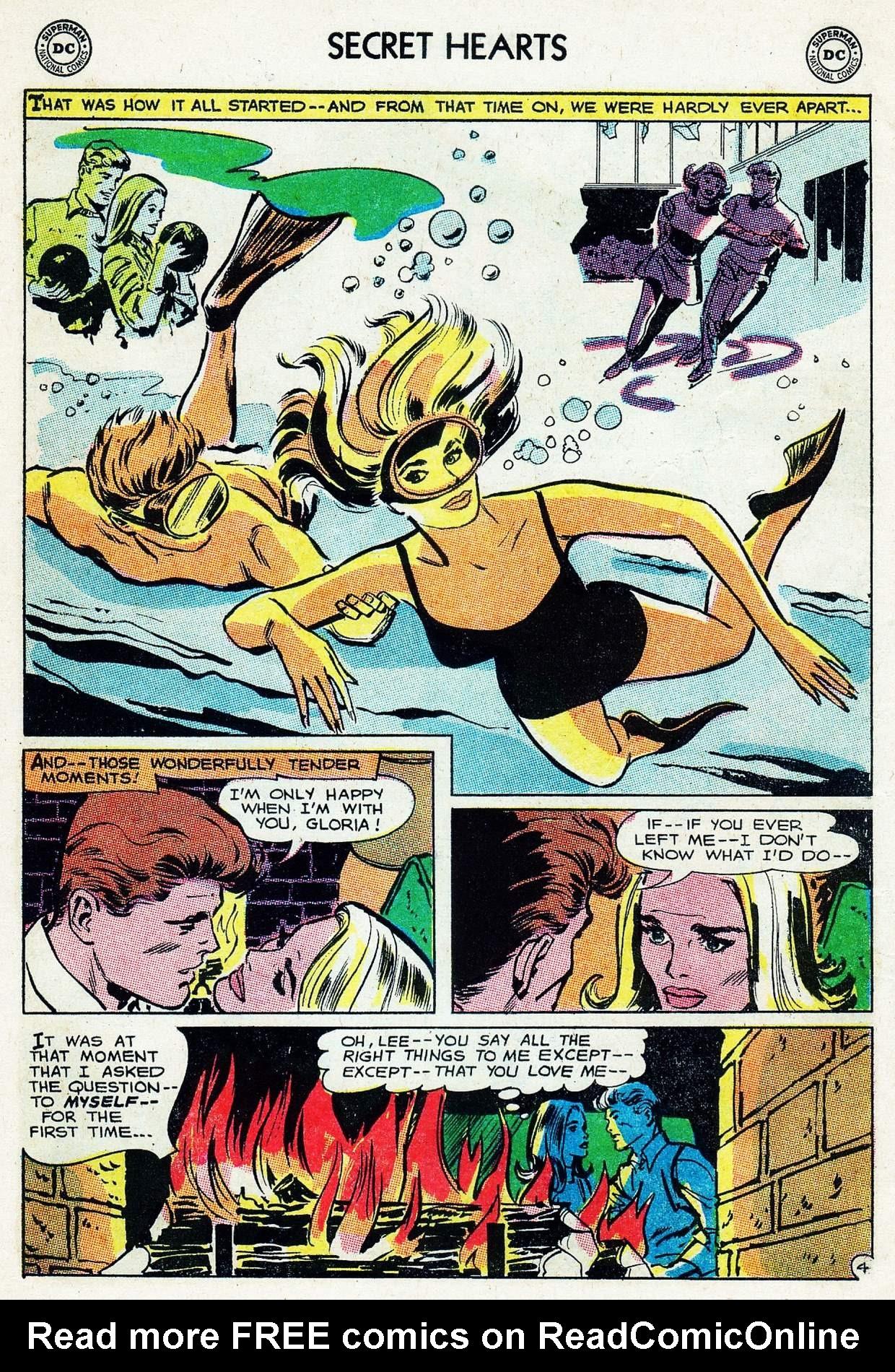 Read online Secret Hearts comic -  Issue #105 - 6