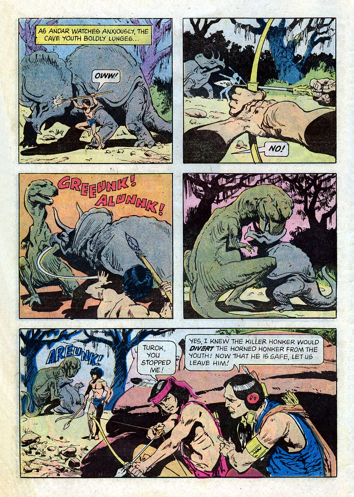 Read online Turok, Son of Stone comic -  Issue #124 - 6