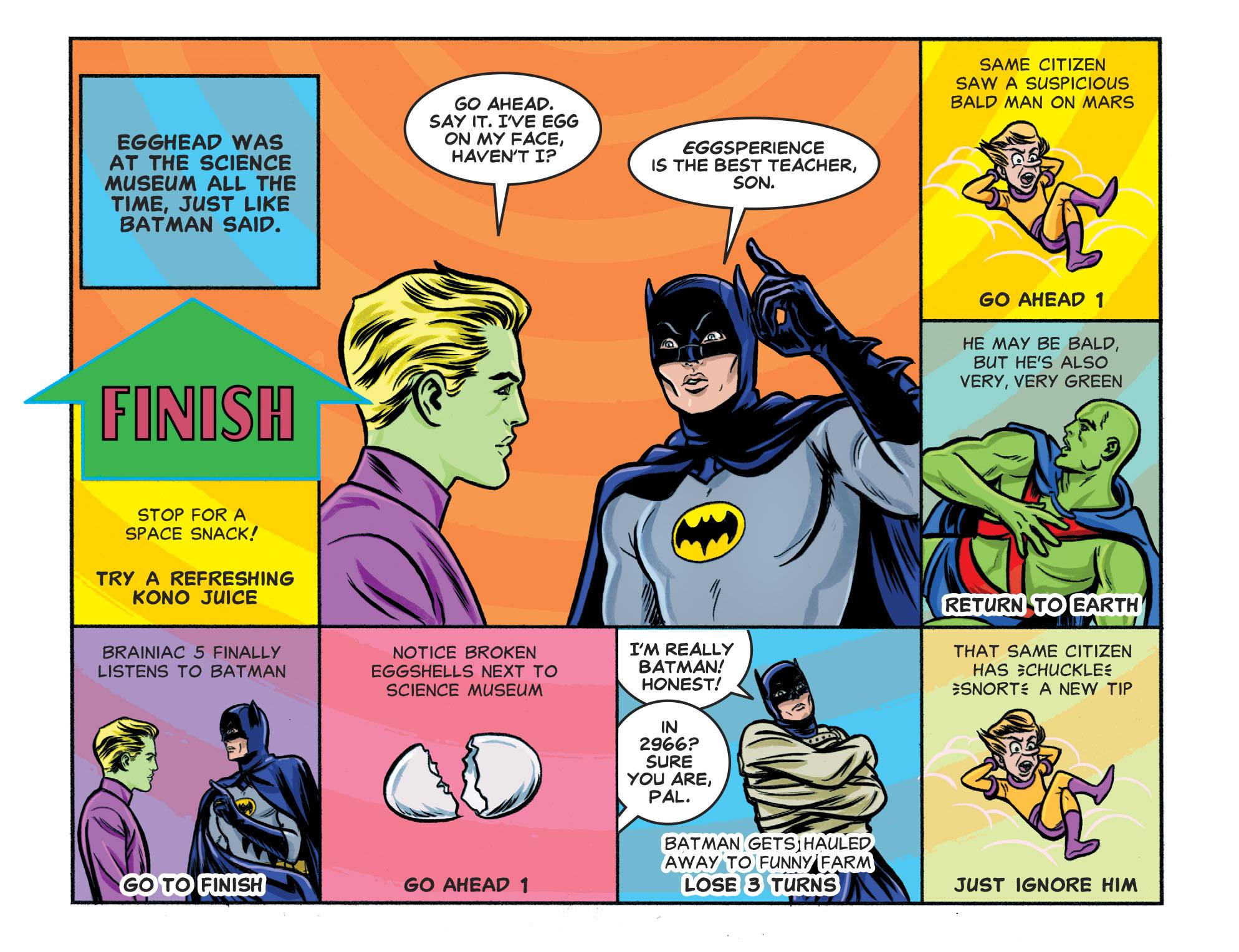 Read online Batman '66 Meets the Legion of Super-Heroes comic -  Issue #1 - 21