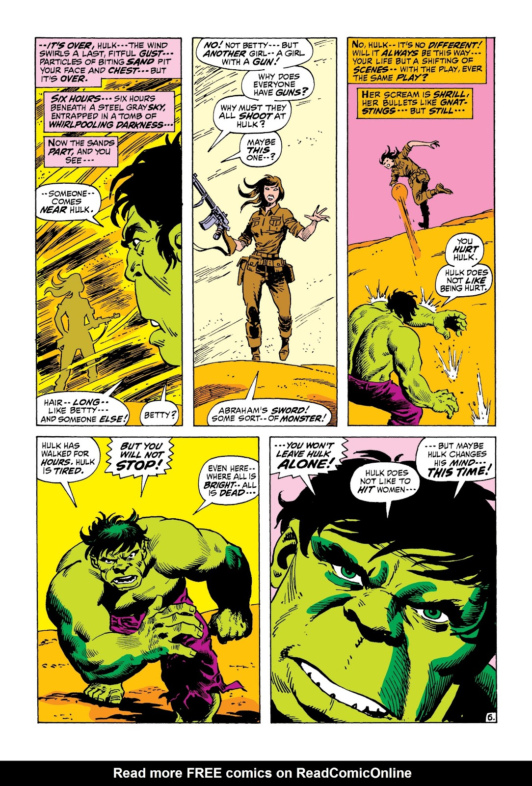 Read online Marvel Masterworks: The Incredible Hulk comic -  Issue # TPB 8 (Part 1) - 47