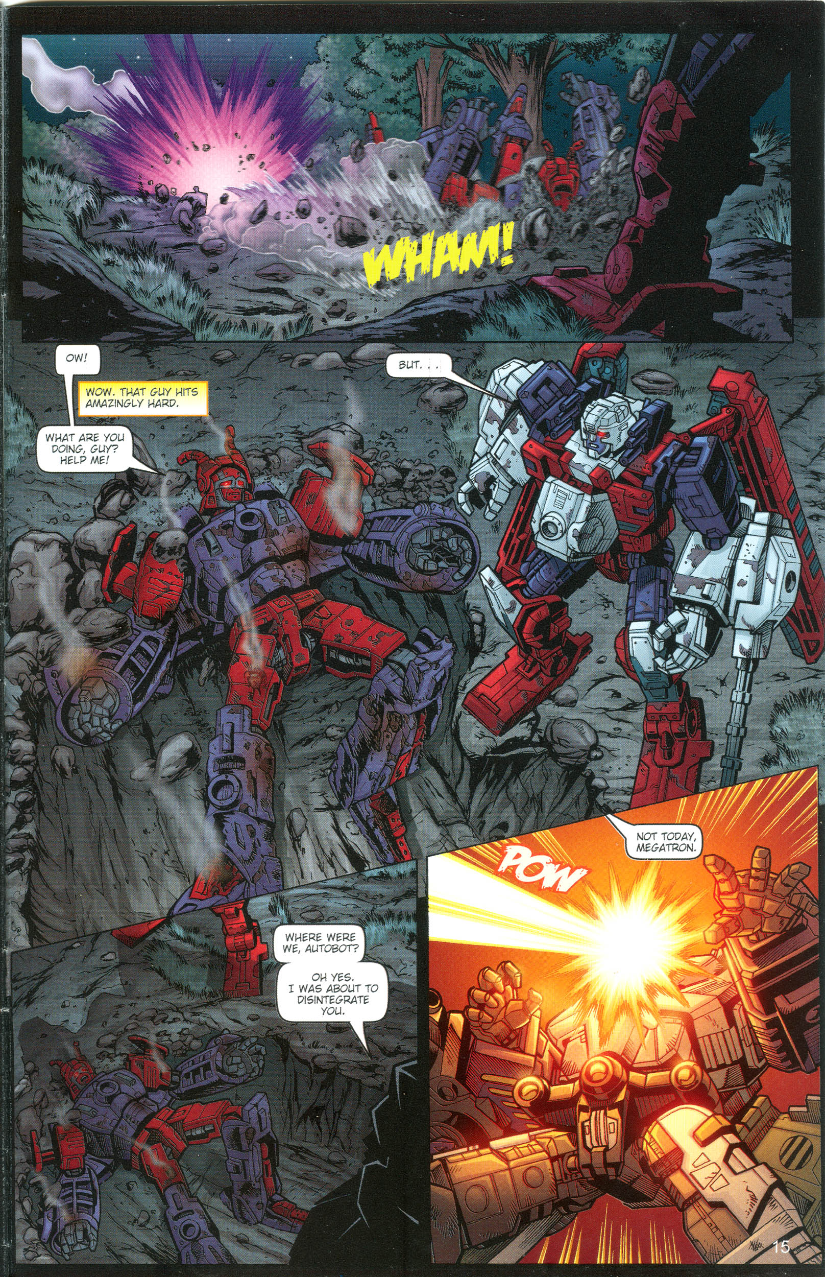 Read online Transformers: Collectors' Club comic -  Issue #13 - 15