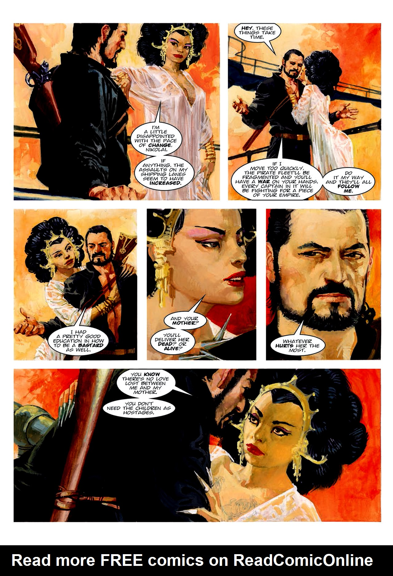 Read online Nikolai Dante comic -  Issue # TPB 6 - 159