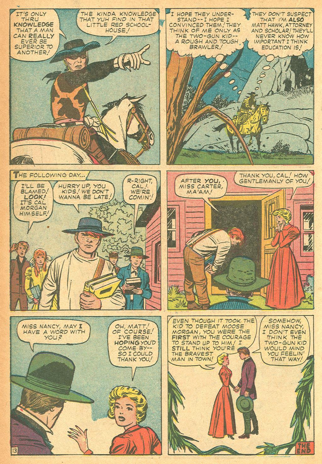Read online Two-Gun Kid comic -  Issue #62 - 18