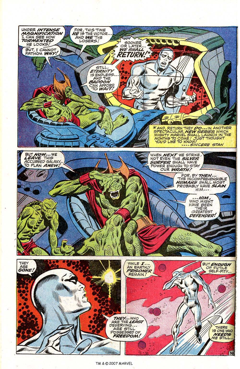Read online Silver Surfer (1968) comic -  Issue #2 - 50