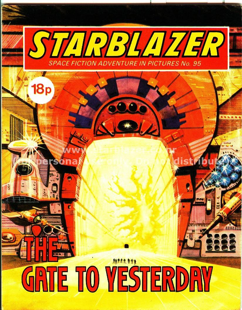 Starblazer issue 95 - Page 1