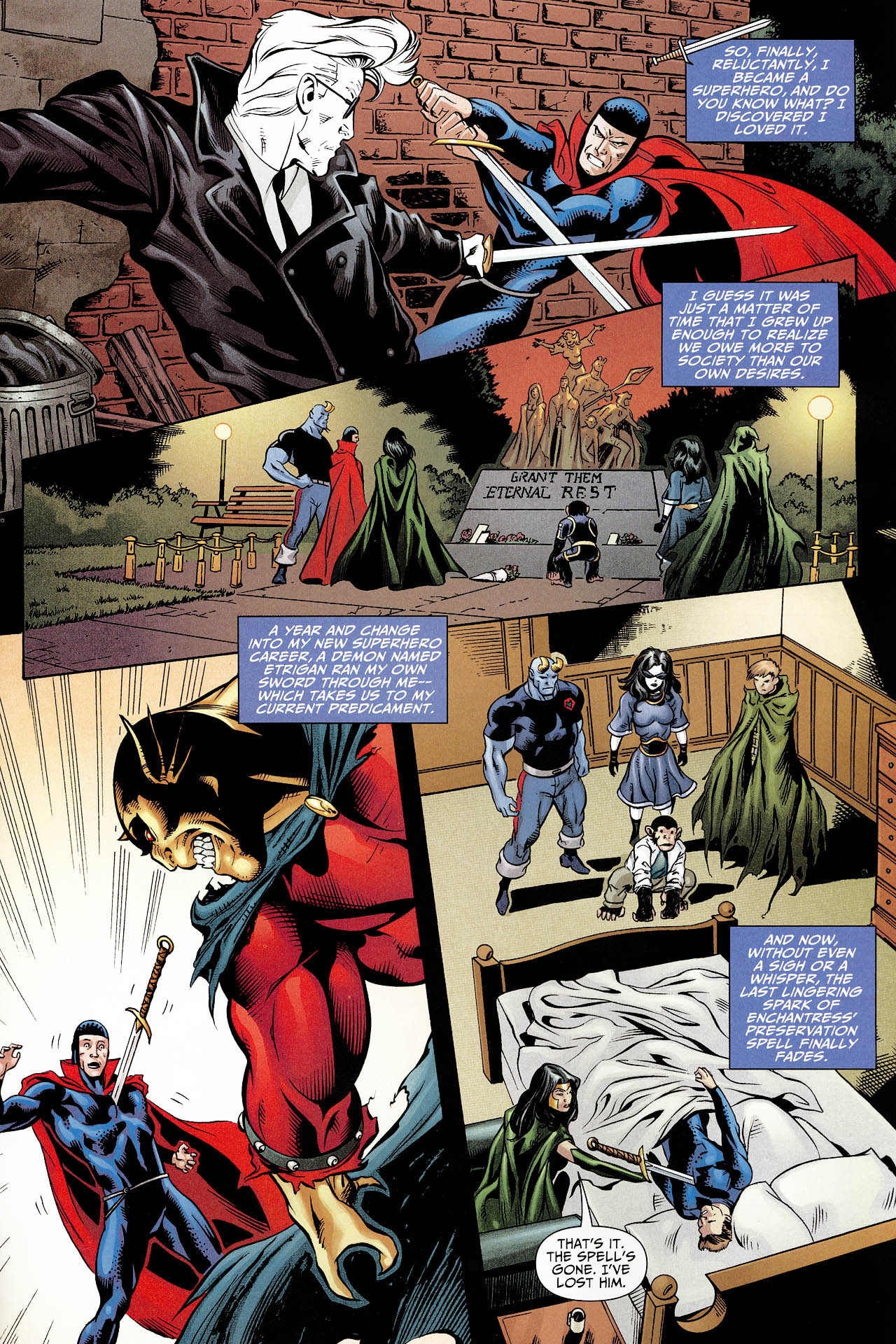 Read online Shadowpact comic -  Issue #12 - 14