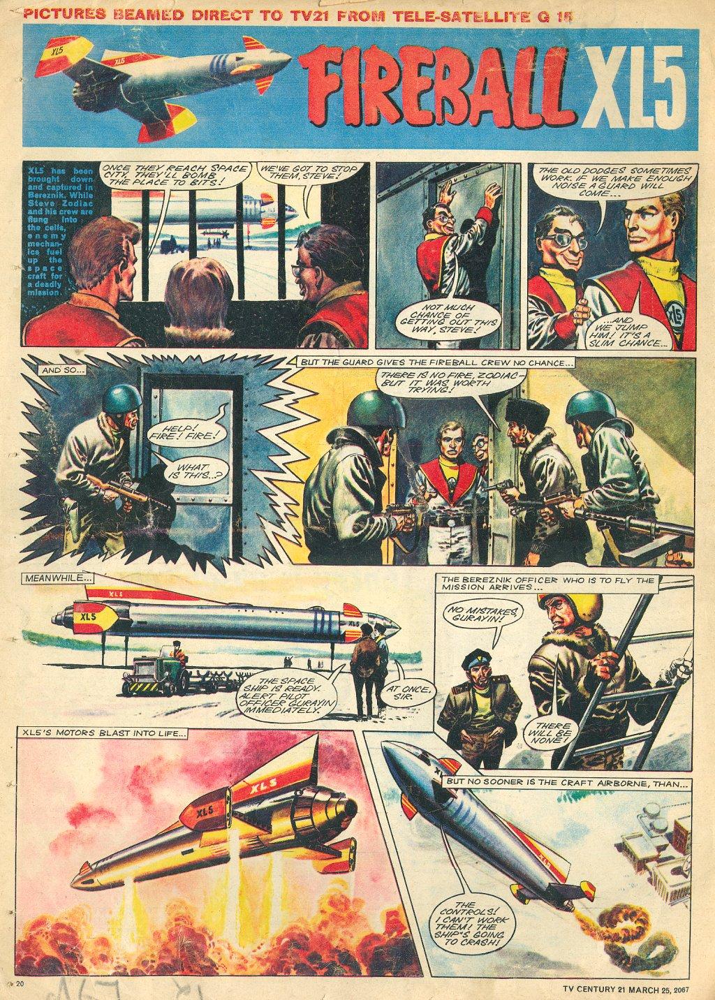 Read online TV Century 21 (TV 21) comic -  Issue #114 - 19