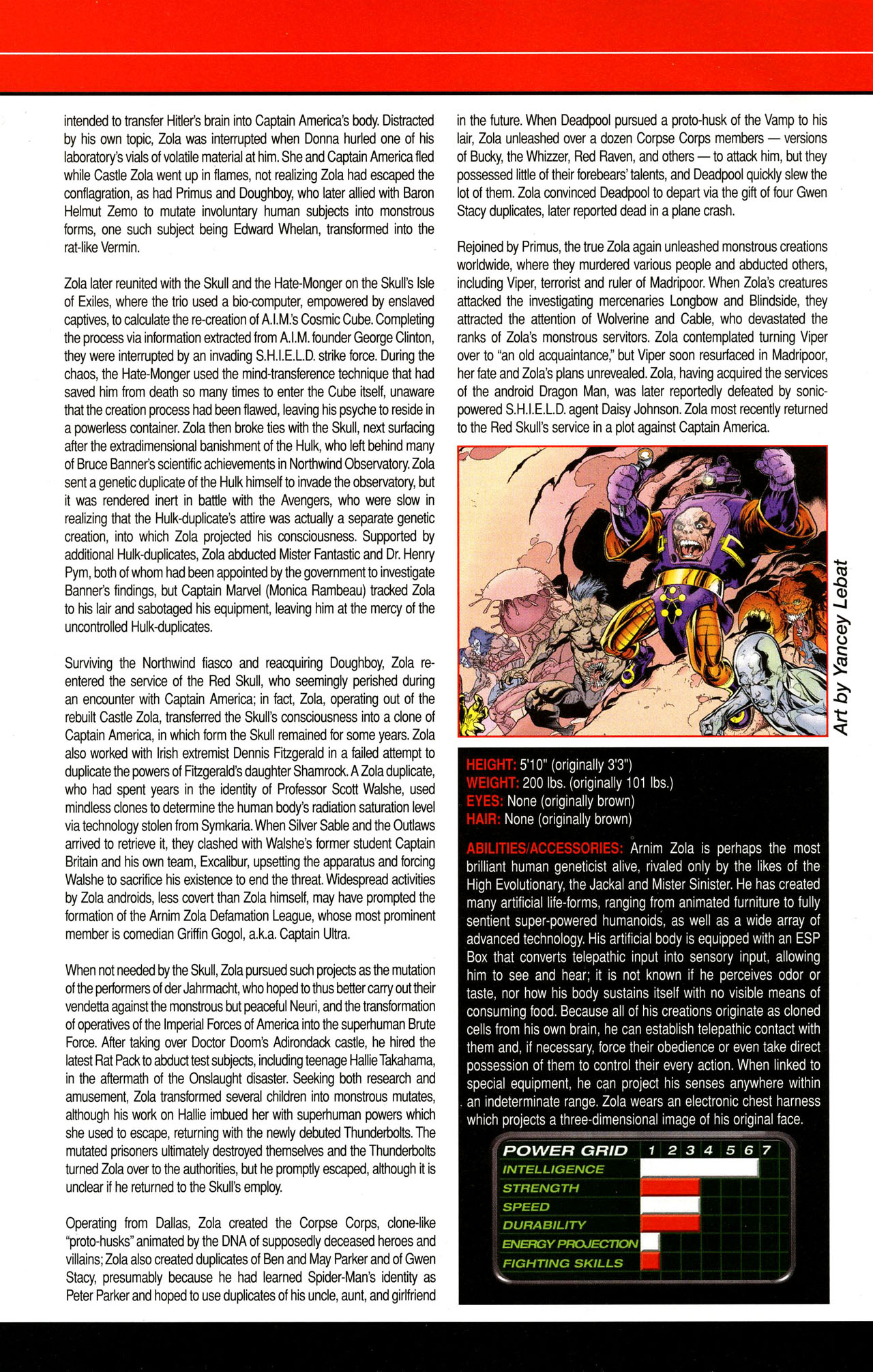 Read online All-New Official Handbook of the Marvel Universe A to Z comic -  Issue #12 - 64