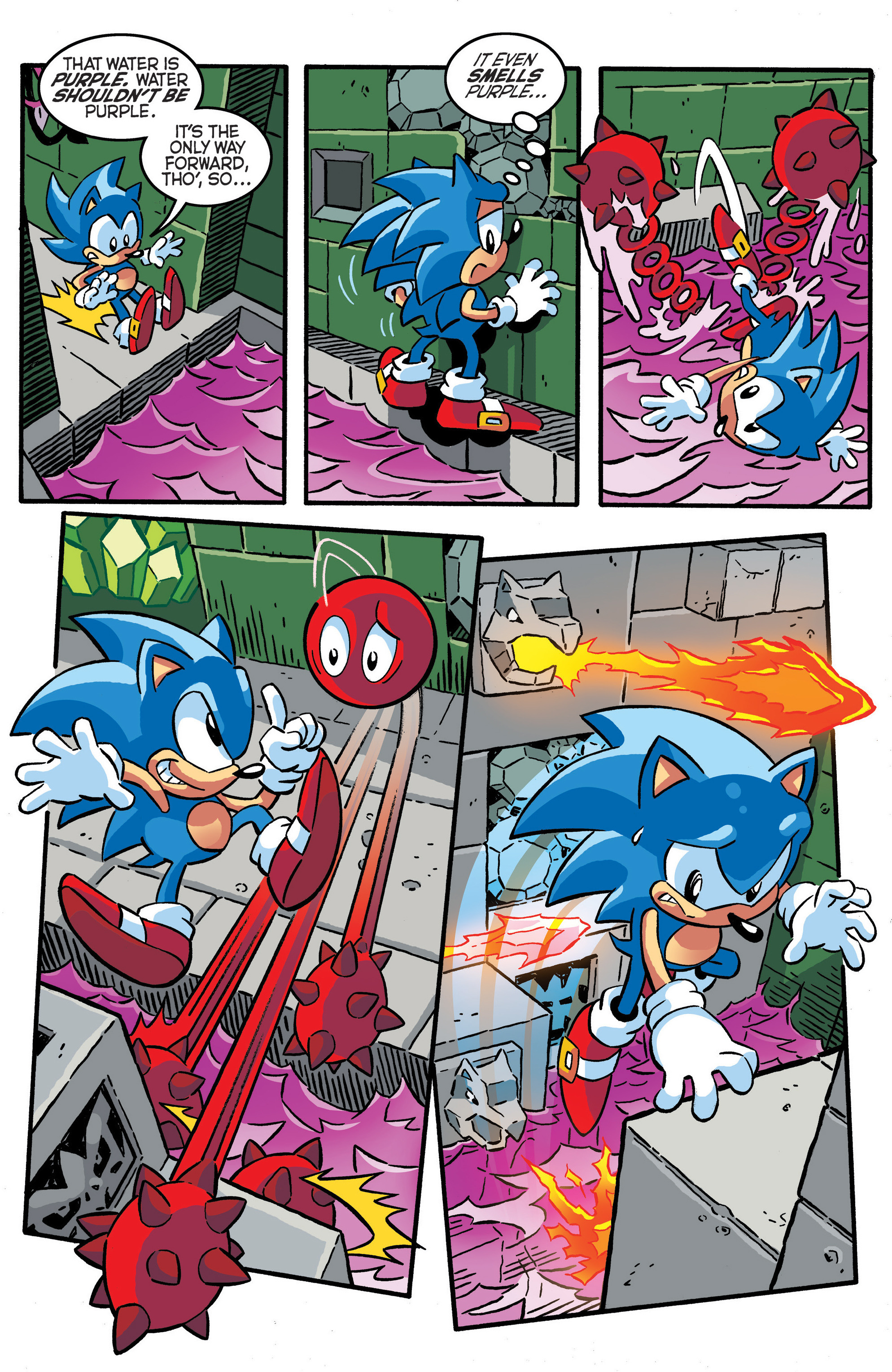 Read online Sonic The Hedgehog comic -  Issue #288 - 8