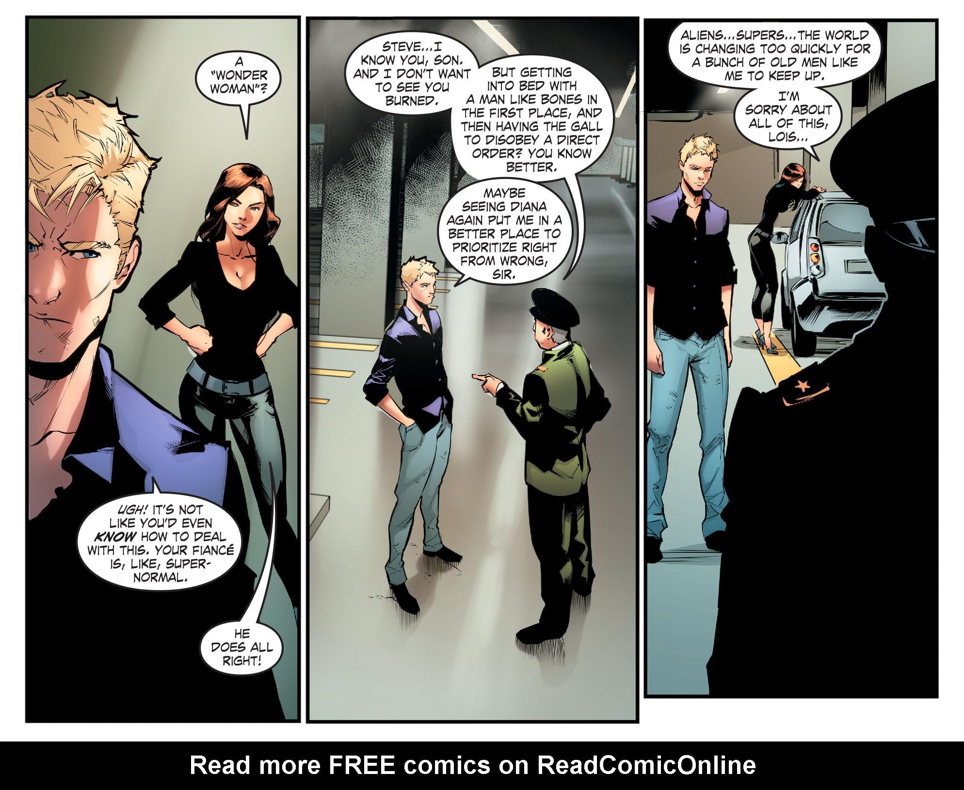 Read online Smallville: Season 11 comic -  Issue #65 - 4