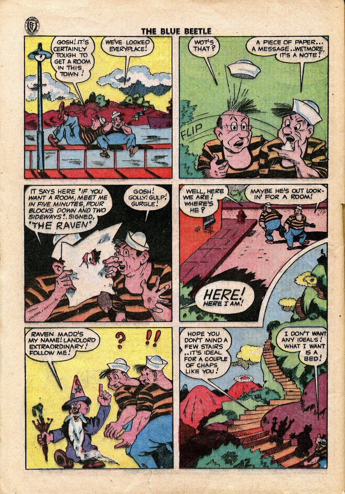 The Blue Beetle issue 34 - Page 31