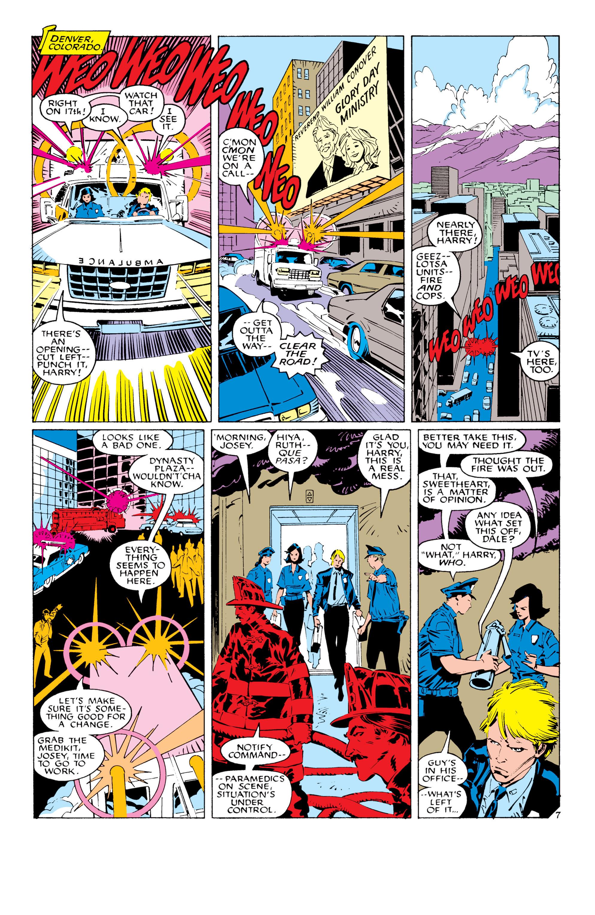 Read online Uncanny X-Men (1963) comic -  Issue #232 - 8