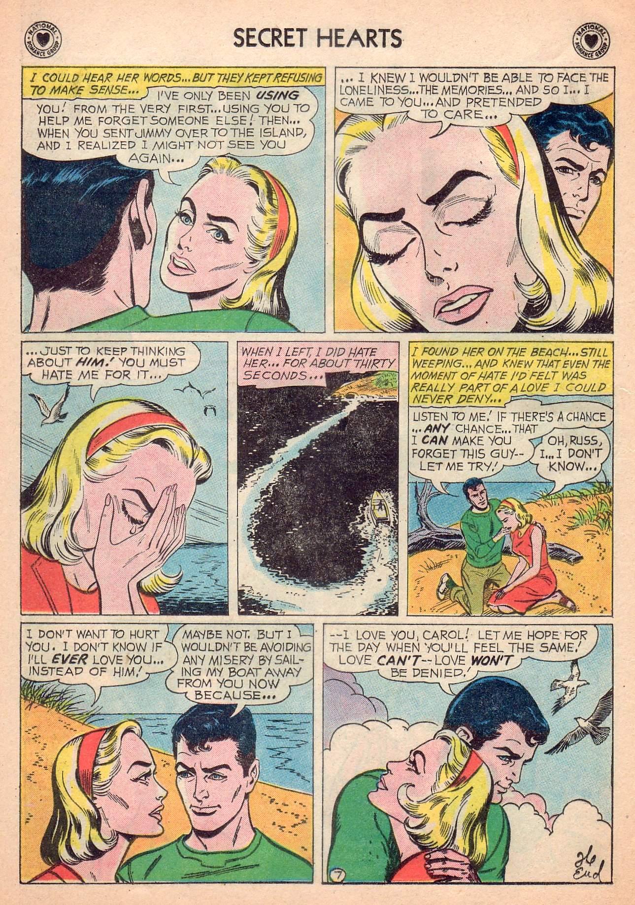 Read online Secret Hearts comic -  Issue #63 - 16