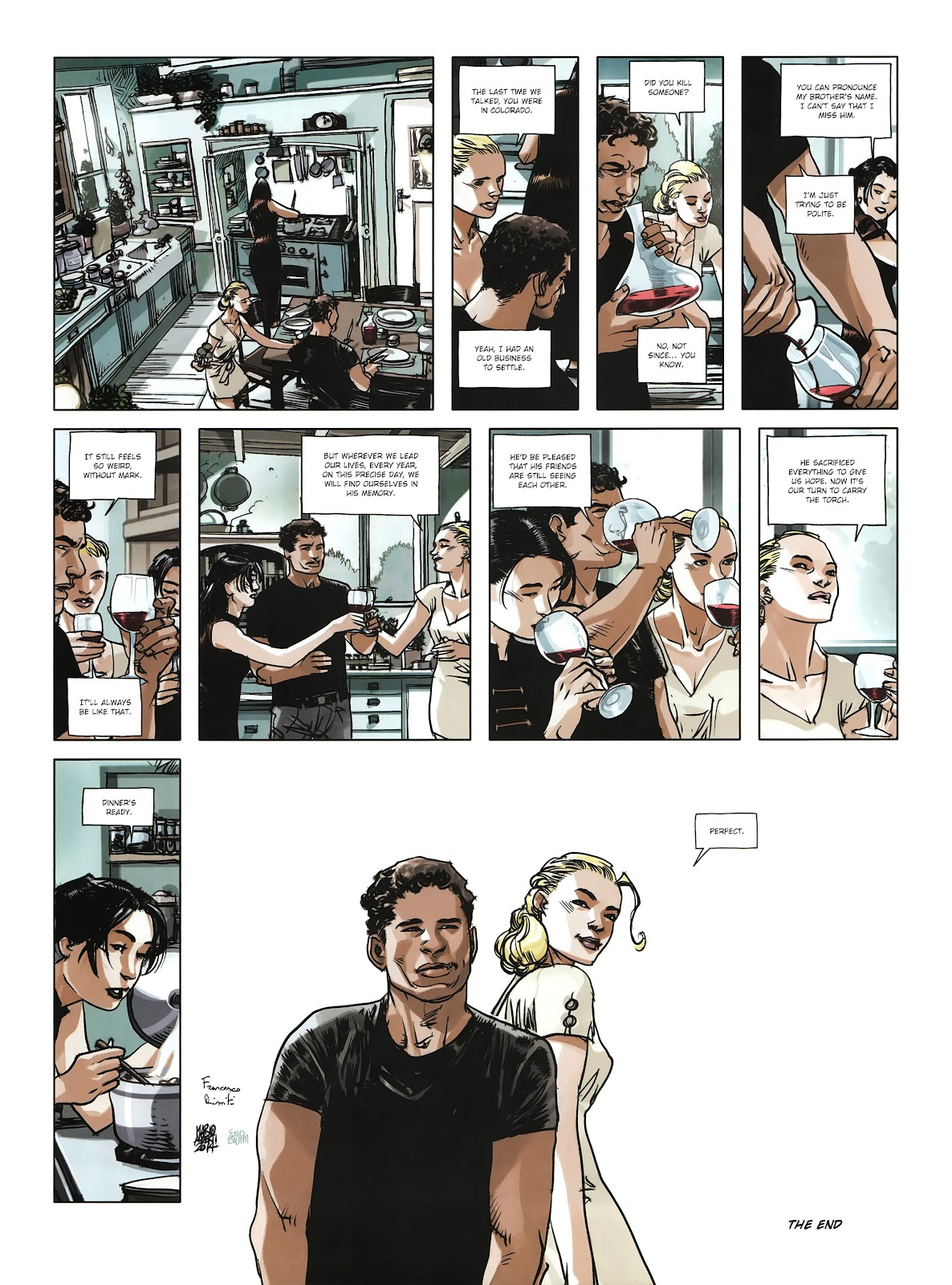 Read online Cutting Edge (2013) comic -  Issue #4 - 43