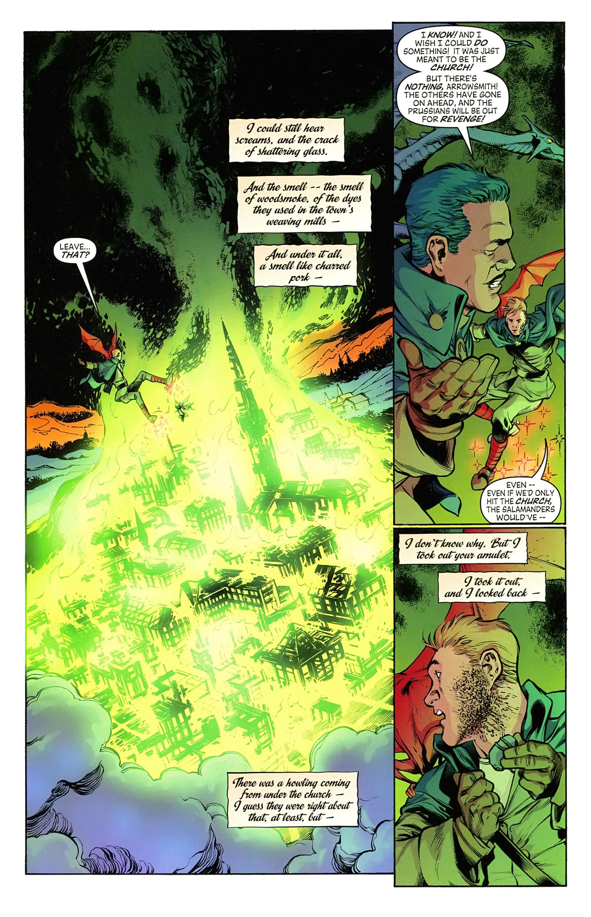 Read online Arrowsmith comic -  Issue #5 - 19