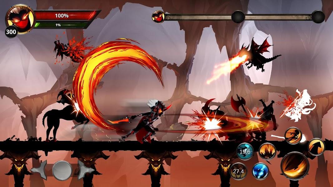 Stickman Legends: Shadow War Offline Fighting Game Screenshot 01