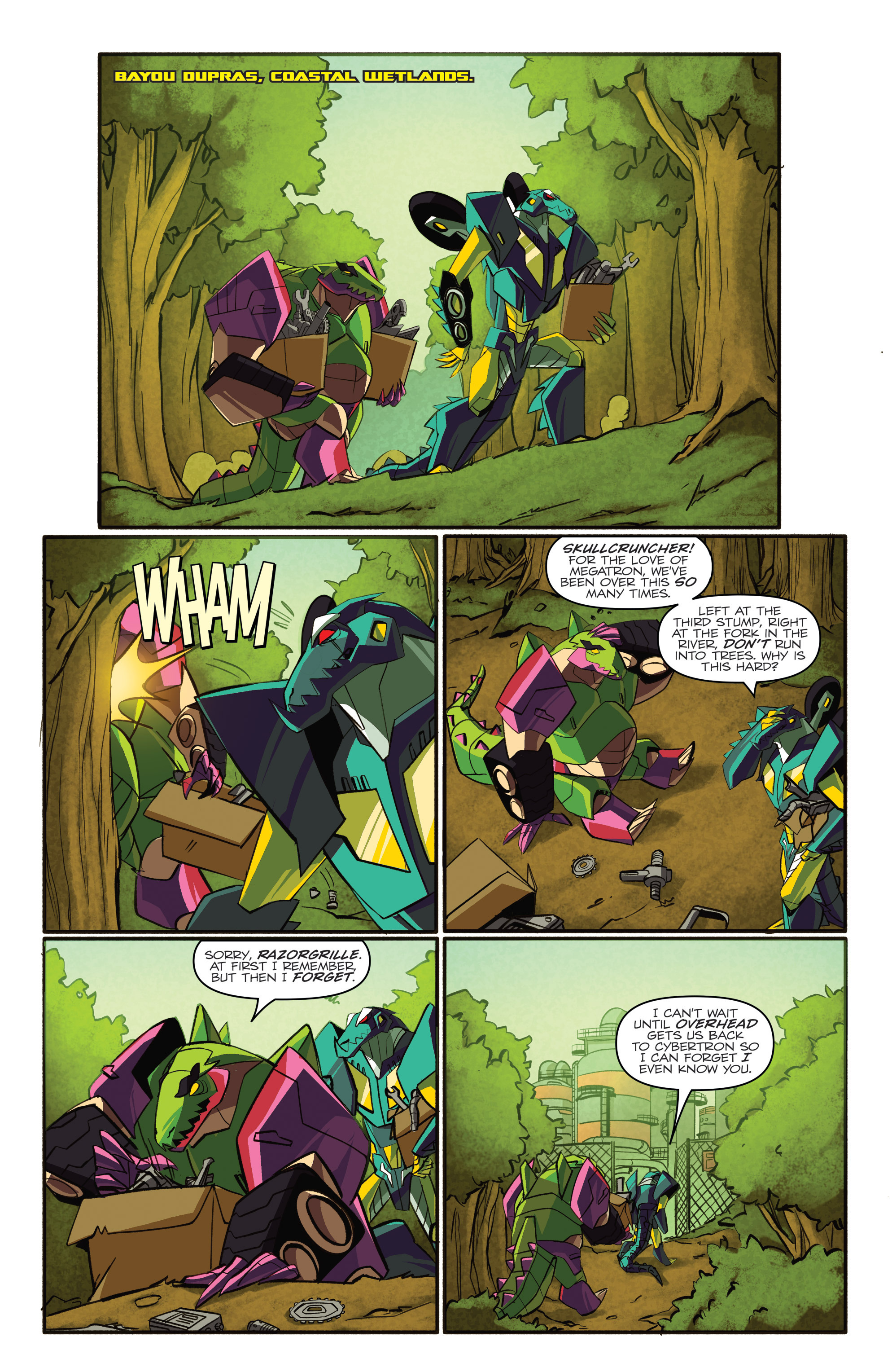Read online Transformers: Robots In Disguise (2015) comic -  Issue #4 - 9