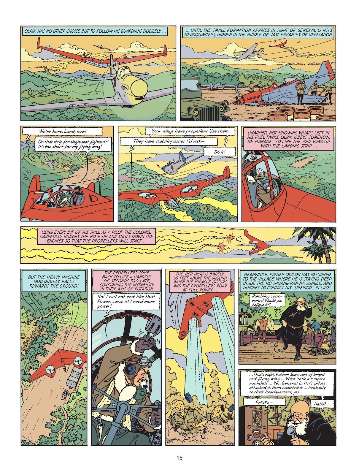 Read online Blake & Mortimer comic -  Issue #25 - 17