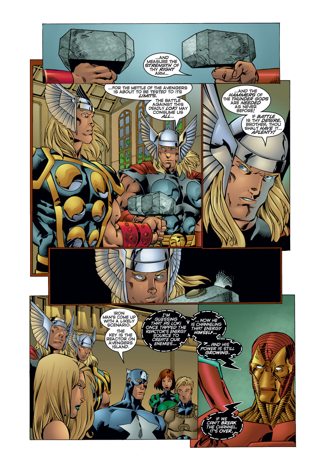 Read online Avengers (1996) comic -  Issue #11 - 8