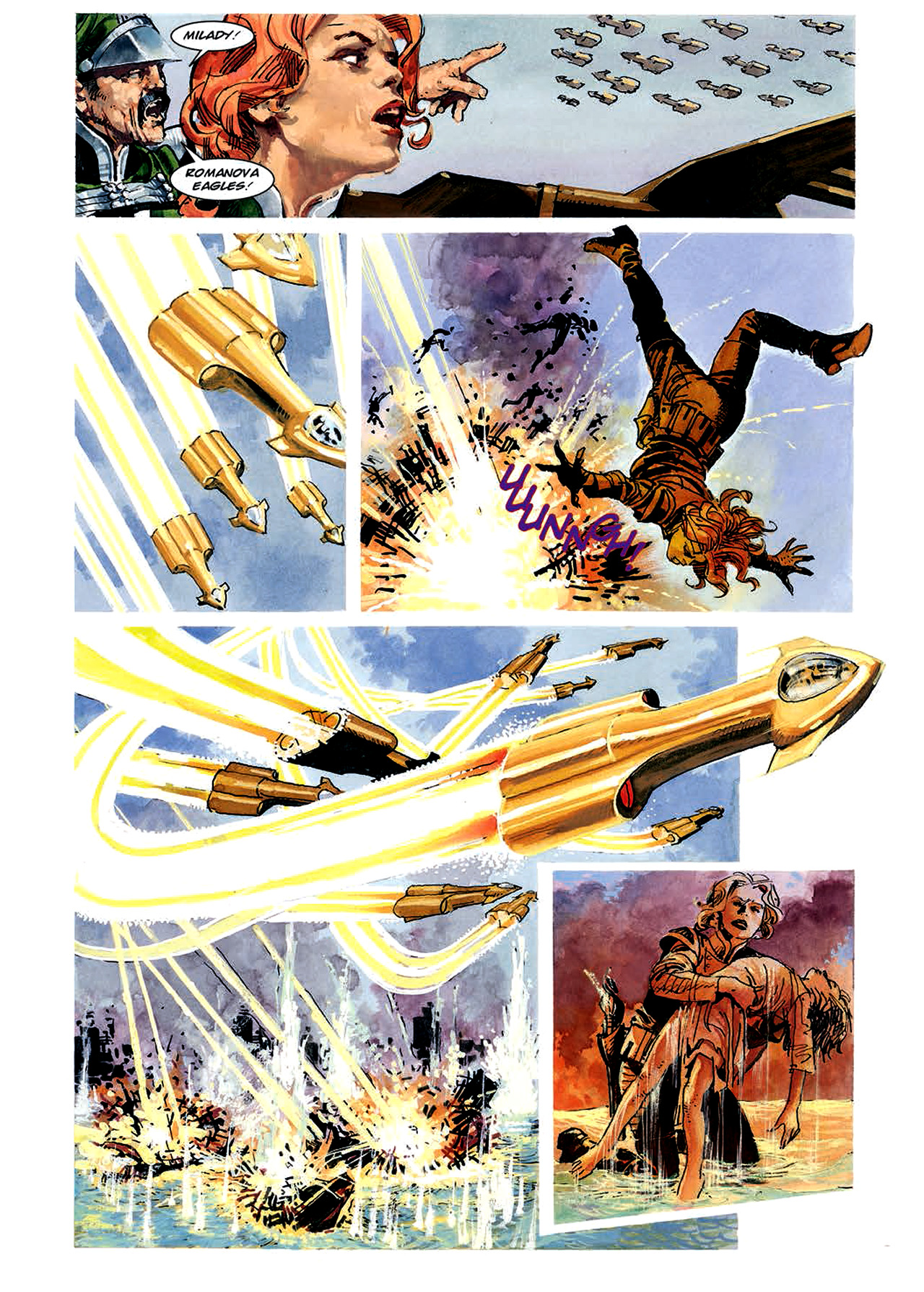 Read online Nikolai Dante comic -  Issue # TPB 4 - 87
