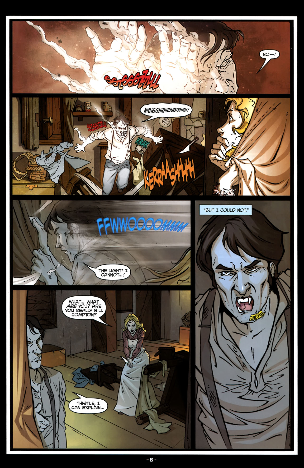 Read online True Blood (2010) comic -  Issue #6 - 9