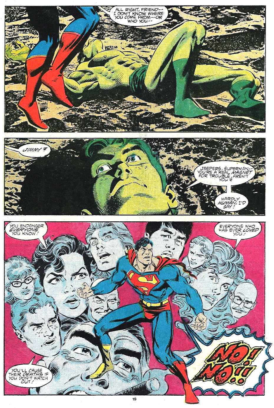 Read online Adventures of Superman (1987) comic -  Issue #435 - 20