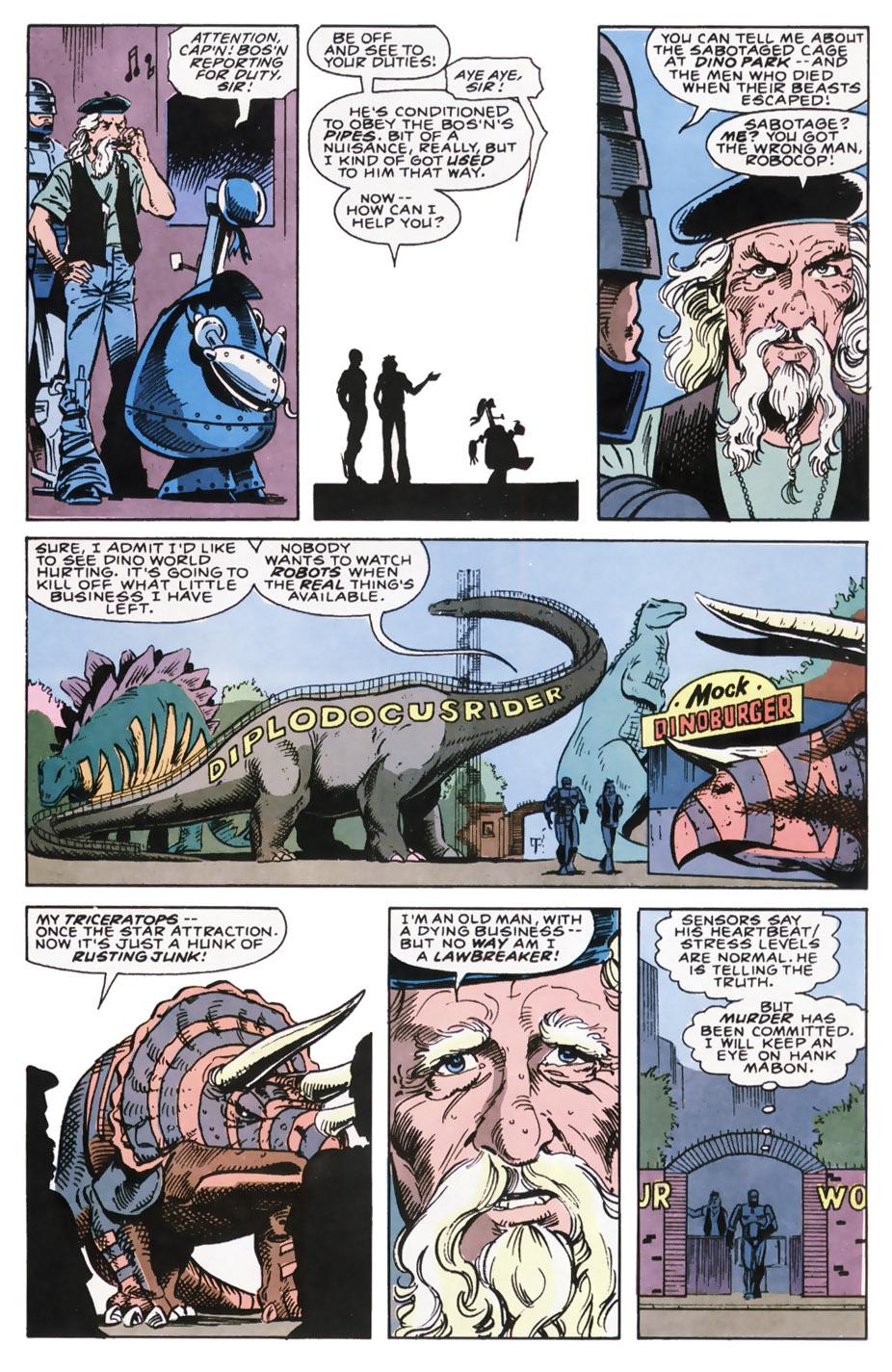 Read online Robocop (1990) comic -  Issue #7 - 9